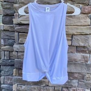 New Balance White work out top M